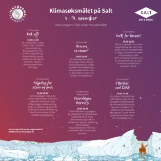 Program på Salt i Oslo i november